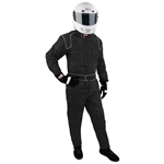 Garage Sale - Speedway Proban One Piece SFI 5 Double Layer Racing Suit, Black, Size Small