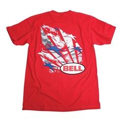 Garage Sale - Bell Stars & Stripes T-Shirt, Size Large