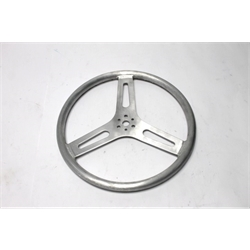 Garage Sale - 15 Inch Pro-Grip Aluminum Steering Wheel, Flat