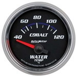 Auto Meter 6137-M Cobalt Air-Core Water Temperature Gauge, 2-1/16 Inch