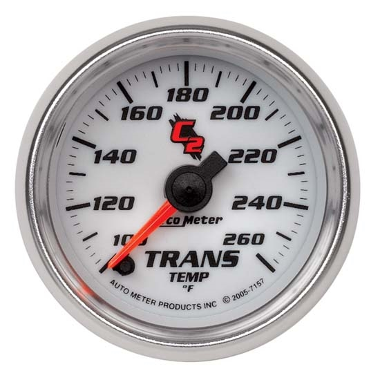 Auto Meter 7157 C2 Digital Stepper Motor Transmission Temp Gauge