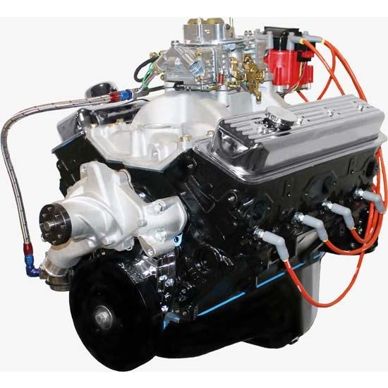 BluePrint BP3833CTC1 GM 383 Dressed Engine, Vortec Heads
