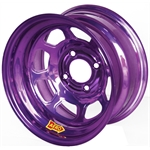 Aero 31-974010PUR 31 Series 13x7 Wheel, Spun, 4 on 4 BP, 1 Inch BS