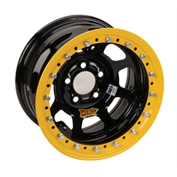 AERO 53 Series IMCA Certified Race Wheel, Beadlock, 5 on 4-3/4 Inch Pattern