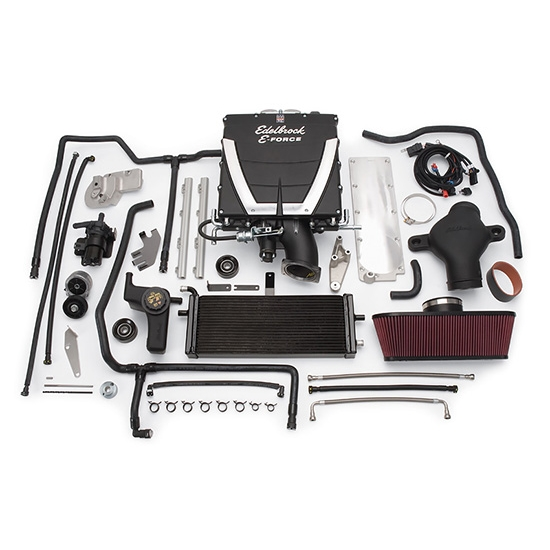 Edelbrock 1576 E-Force Competition Chevy Supercharger System Kit, 6.2L