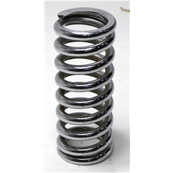 Garage Sale - Chrome 9 Inch Coil Spring, 2-1/2 Inch, 700 lbs.
