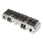 Flo-Tek 101505 Assembled S/B Chevy Aluminum Head, Angle Plug