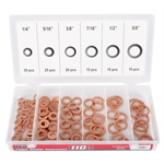 Titan Tools 45217 110-Piece Copper Washer Set