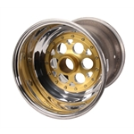 Weld 735-51656 15 x 16 Inch Right Rear Wheel, 6 Inch Offset, Beadlock/Cover
