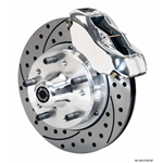 Wilwood 140-11017-DP FDL 11 In Front Brake Kit, 74-80 Pinto/Mustang II
