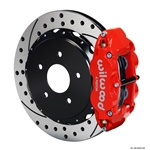 Wilwood 140-9830-DR FNSL 4R Rear Brake Kit, 98-02 Camaro/Firebird