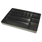 Ernst Mfg 5011-BLACK Tool Organizer Tray, Black