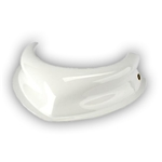 Dominator White Hood Scoop