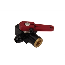 Waterman 935566D Dash Mount Fuel Shut Off Valve, -6 AN