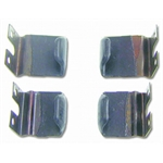 Window Blow-Out Clips for 1967-69 Camaro Coupe, 4-Piece Set