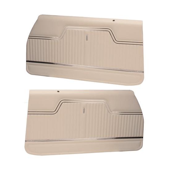 Pui Pd243 1970 1972 Chevelle White Front Door Panels Ebay