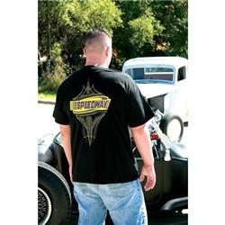 Garage Sale - Speedway Pinstriped Shirt, Black, Size XL