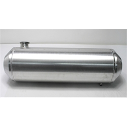 Garage Sale - Spun Aluminum Fuel Tank, 11 Gallon, 10 x 33 Inch, Offset Outlet