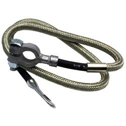 Taylor Cable 20053 Diamondback Braided Stainless Battery Cable-53 Inch