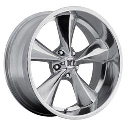 Boyds BC1-296550P Junkyard Dog Series 20x9 Polished Wheel, 5 on 4-1/2