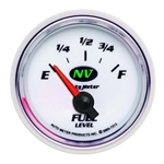 Auto Meter 7313 NV Air-Core Fuel Level Gauge, 2-1/16 Inch