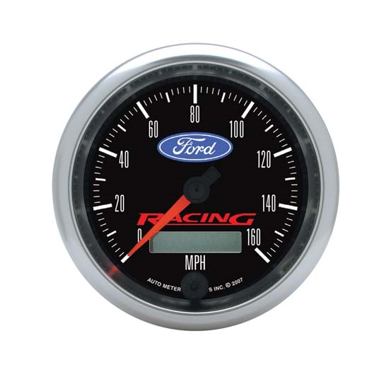 Auto Meter 880082 Ford Racing Air-Core Speedometer Gauge, 3-3/8 Inch