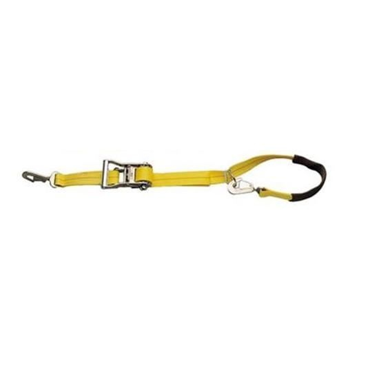 Ratchet Tie Downs w/ Axle Strap, 5,000/1,666 LB. (EA)