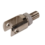MPD Racing 081301 Billet Birdcage Jacobs Ladder Clevis, 3/8 Hole