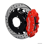 Wilwood 140-11877-DR FNSL 4R Rear Brake Kit, Speedway Eng New Style