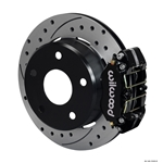 Wilwood 140-13322-D Dynapro Lug Mount Rear Brake Kit, Big Ford, Bronco