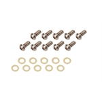 TI64 220 Titanium Wheel Center Bolt Kit, Button Head Style