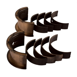 King HP Series Chevy 400 Large Journal Engine Main Bearings, Standard