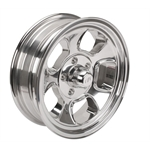Team III Wheels Five Window Wheel-Pol-15x6-5 on 4.75-2-3/4 Backspace