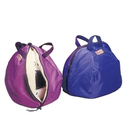 Safety Racing Fleece-Lined Protective Helmet Bag, Purple