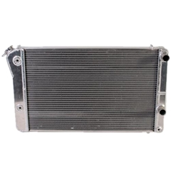 Garage Sale - AFCO 84298-P-NA-Y Pontiac GTO LS Swap Polished Radiator, With Trans Cooler