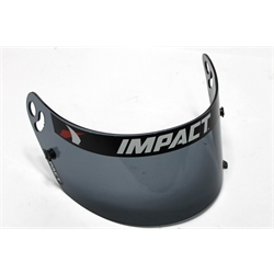 Garage Sale - Impact Racing 19399902 Super Sport Helmet Replacement Shield, Dark