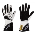 Alpinestars Tech 1-Z Black Medium Racing Gloves, SFI 3.3/5 FIA