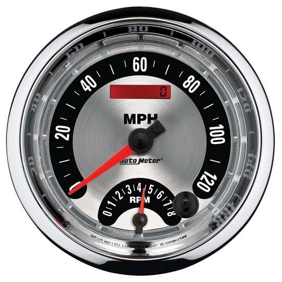 Auto Meter 1295 American Muscle Air-Core Tach/Speedometer Combo Gauge