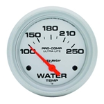 Auto Meter 4437 Ultra-Lite Air-Core Water Temperature Gauge, 2-5/8