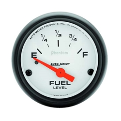 Auto Meter 5716 Phantom Air-Core Electric Fuel Level Gauge, 2-1/16 In.
