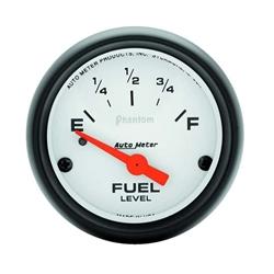Auto Meter 5716 Phantom Air-Core Electric Fuel Level Gauge, 2-1/16 In.