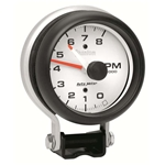 Auto Meter 5780 Phantom Air-Core Pedestal Tachometer, 8K RPM, 3-3/4