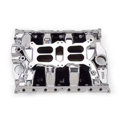 Edelbrock 75054 rpm air gap dual quad intake manifold big for Rpm motors lincoln ne