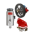 KRC 29010010 Pro Aluminum SBC Pump Kit-V-Belt-Head Mount Remote Tank
