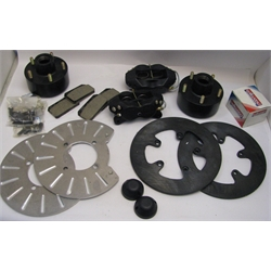 Garage Sale - Wilwood 140-1503 Heavy Duty Front Brake Kit for Chevy