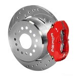 Wilwood 140-7141-ZR FDL Pro-Series Rear Parking Brake Kit, 12.19 Inch, 2.81 Offset