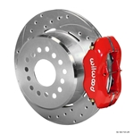 Wilwood 140-7141-ZR FDL Rear Brake Kit, Chevy 12 Bolt w/ C-Clips