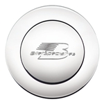 Billet Specialties 32625 Large Horn Button - Logo