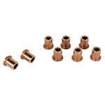 Bronze Replacement Shackle Bushings for 2-1/4 Inch Shackle