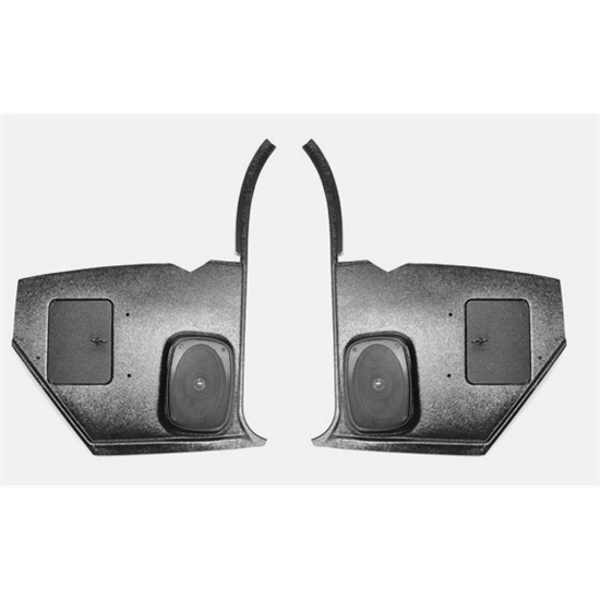 custom autosound kcam 67 8 speaker kick panels 1967 68 camaro pair free shipping speedway. Black Bedroom Furniture Sets. Home Design Ideas